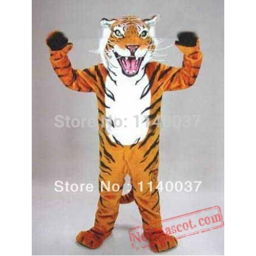 Fierce Wild Tiger Mascot Costume