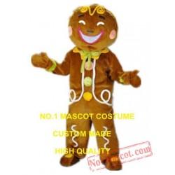 Gingerbread Biscuit Mascot Costume