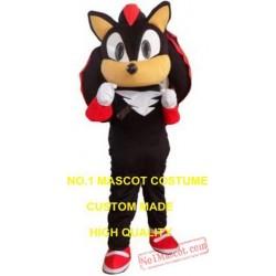 Popular Cartoon Black Hedgehog Mascot Costume
