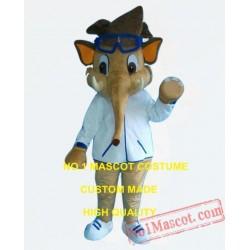 Cool Elephant Boy Mascot Costume