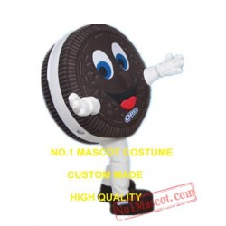 Chocolate Cookie Mascot Costume