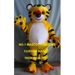 New Little Cute Tiger Mascot Costume
