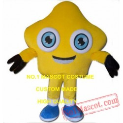 Yellow Star Mascot Costume