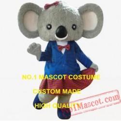 Cute Koala Boy/Girl Mascot Costume