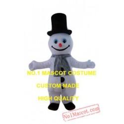 New Cute Snowman Mascot Costume