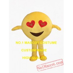 Happy Face Mascot Costume
