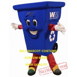 Waste Recycling Bin Mascot Costume