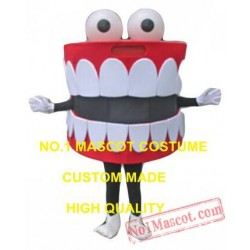 Teeth Mascot Costume