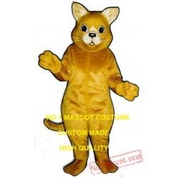Golden Cat Mascot Costume