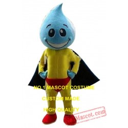 Colorful Water Droplet Mascot Eva Material Big Head Costume