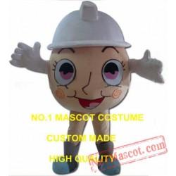 Easter Egg Mascot Costume
