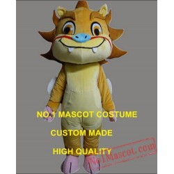 Chinese Lucky Beast Little Kirin Mascot Costume