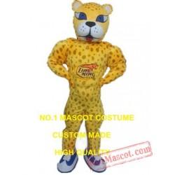 Basketball Cheetah Mascot Costume