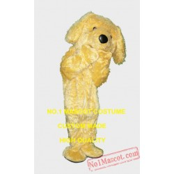 Wholesale Cute Yellow Puppy Doggy Mascot Costume
