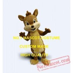Custom Little Chipmunk Mascot Costume