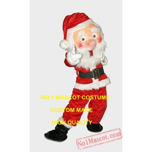 Factory Custom New Christmas Santa Claus Mascot Costume