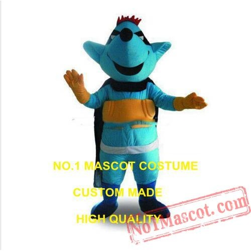 Green Rat Mascot Costume