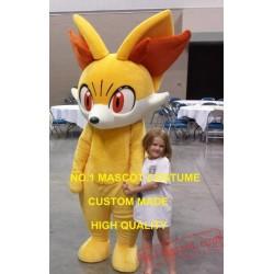 Fennekin Mascot Costume