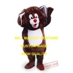 Cute Little Brown Puppy Dog Mascot Costume