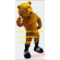 Sport Anime Cosply Costumes Rugby Bear Mascot Costume