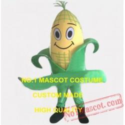 Green Food Corn Maize Mascot Costume