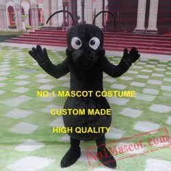 Anime Cosply Costumes Black Ant Mascot Costume