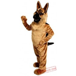 German Shepard Dog Mascot Costume