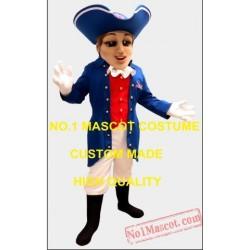 Patriot Female Mascot Costume