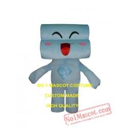 Blue Sofa Couch Mascot Costume