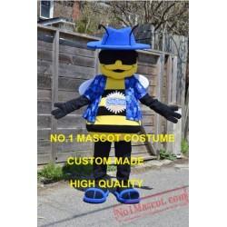 Buzz The Bee Mascot Costume