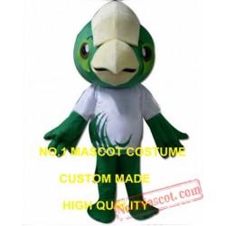 Green Parrot Bird Mascot Costume