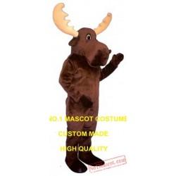 Bull Moose Mascot Costume