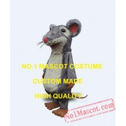 Professional Custom Fur Mouse Mascot Costume