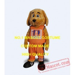 Anime Cosply Costumes School Brown Dog Mascot Costume