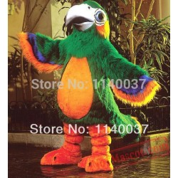 Beautiful Clever Patty Parrot Mascot Costume