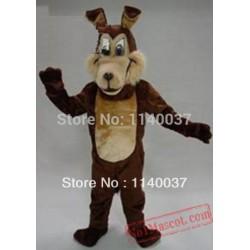 Brown Wolf Coyote Mascot Costume