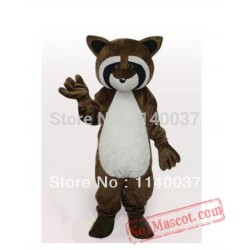 Lynx Racoon Mascot Costume