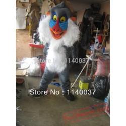 Baboon Mascot Cartoon Costume
