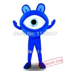 Blue Eye Mascot Costume