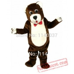 Deluxe Material Teddy Bear Mascot Costume