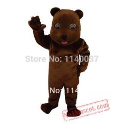 Choco Bear Mascot Costume
