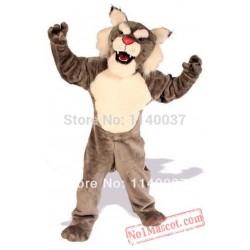 Adult Size Power Cat Wildcat Mascot Costume