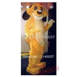Timon Mascot Costume