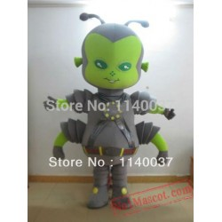 Wholesale Grey Insect Beetle Mascot Costume