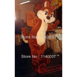 Professional Plush Chipmunk Mascot Adult Costume