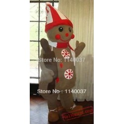 Sweet Christams Chocolate Candy Boy Food Mascot Costume