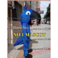 Blue Blu Parrot Hot Movie Mascot Costume