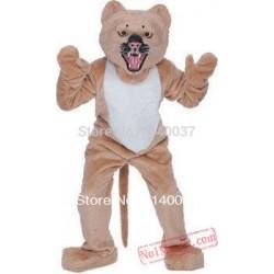 Super Snarling Cheetah Mascot Costume