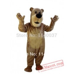 Long Gloves Cartoon Teddy Mascot Costume