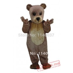 Adult Size Teddy Bear Baby Mascot Costume